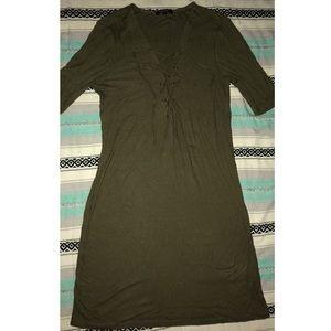 Ribbed Knit Bodycon Dress